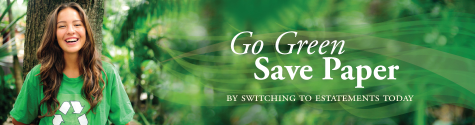 Go Green - Save Paper