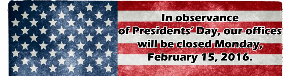 TACU - Presidents Day Closed - Banner (950x250)