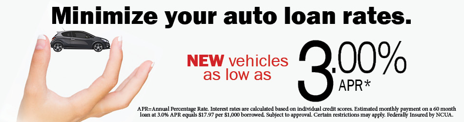 Minimize your auto loan rates
